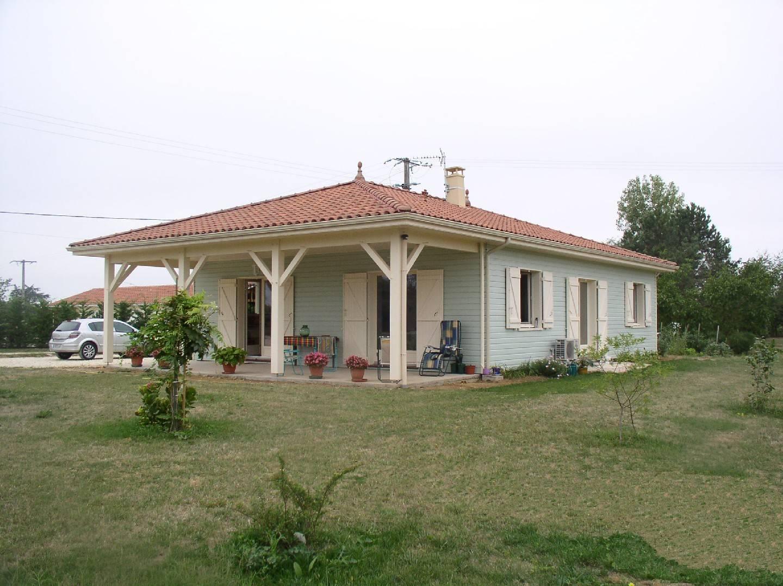 Maison hors d 39 eau hors d 39 air r f 3 pr s d 39 eauze gers for Prix maison ossature bois hors d eau hors d air
