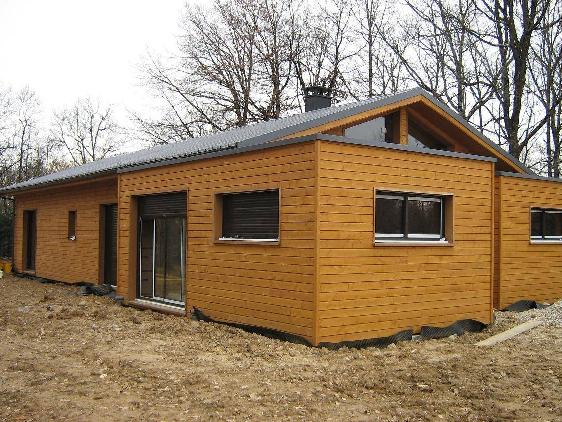 auto construction prs de montauban 82 maison bois prs de montauban dans le tarn et garonne 82 maison hors deau