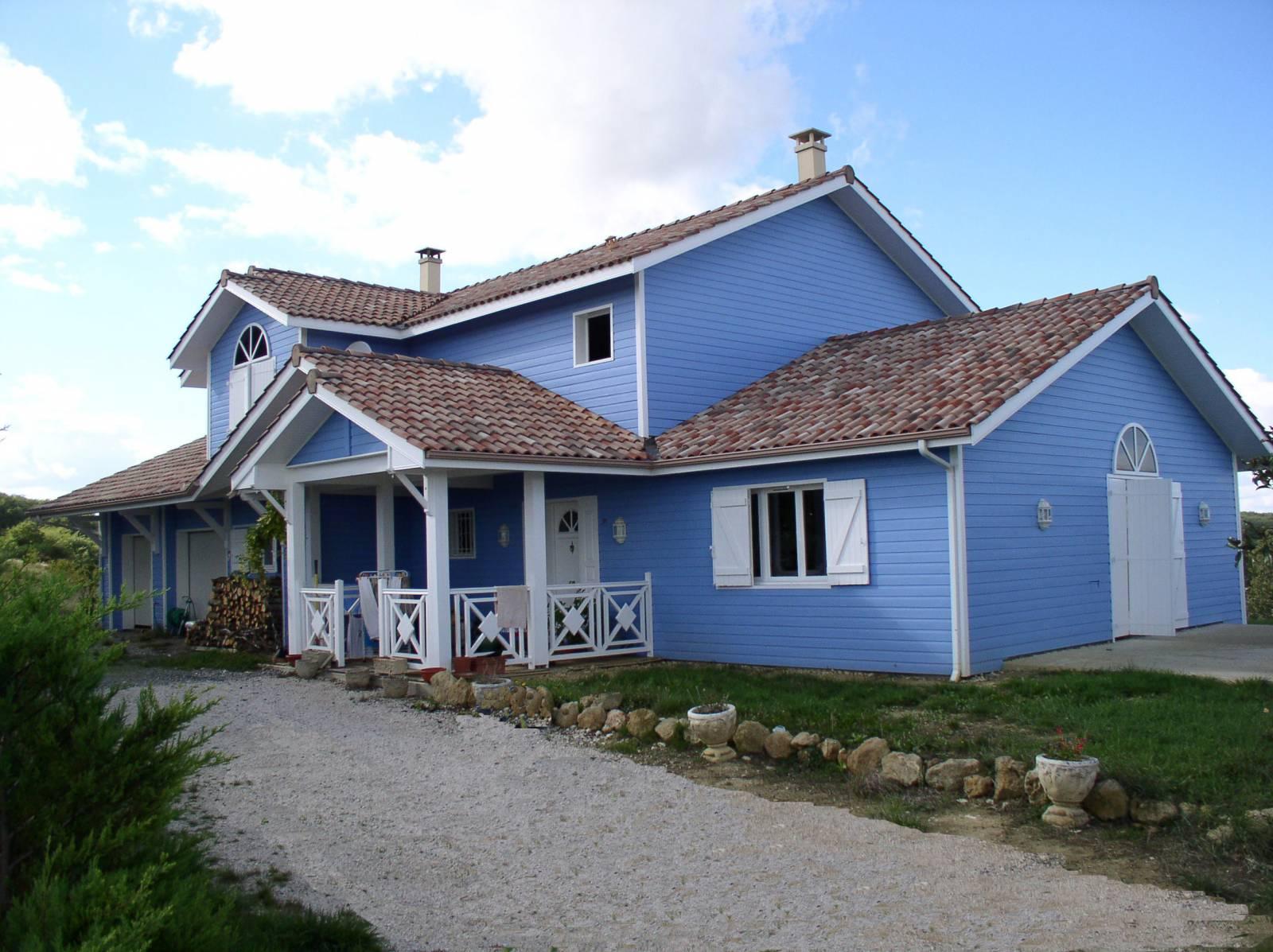 Constructeur maison bois dans le gers for Constructeur maison bois