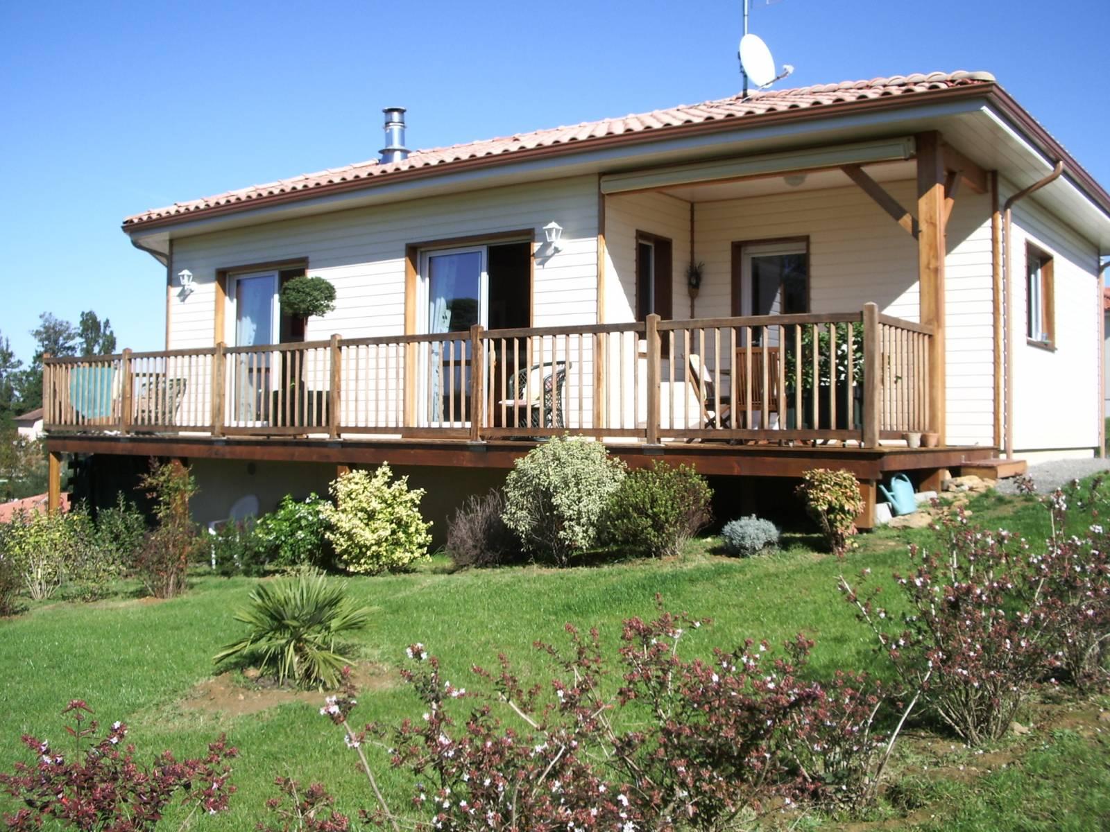 maison construction bois r f 22 23 pr s de tartas dans