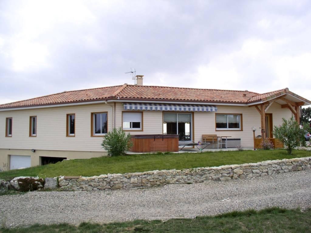 Maison construction bois réf 4  près de Fleurance dans le Gers (32)  Cogebois