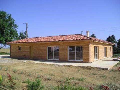 Maison ossature bois r f 13 pr s de fleurance dans le for Constructeur maison gers
