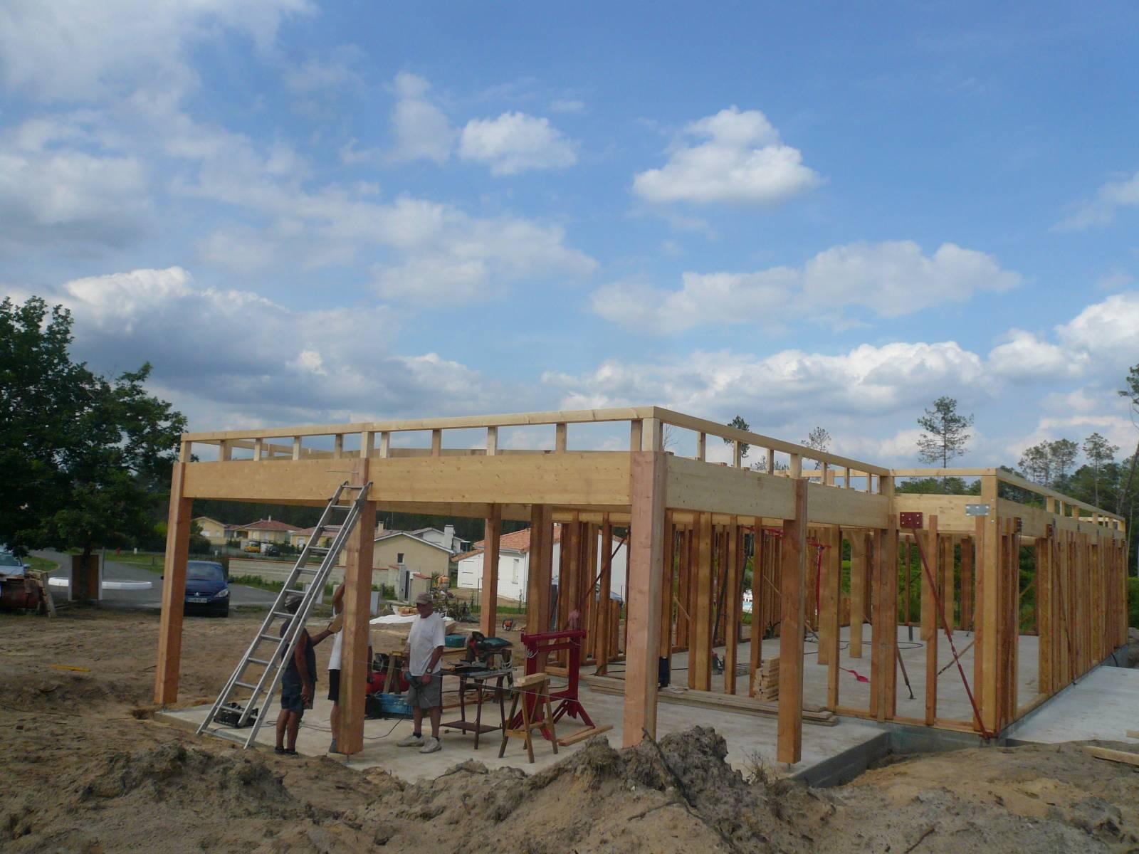 maison auto construction r f 14 15 pr s de mont de marsan dans les landes 40 cogebois. Black Bedroom Furniture Sets. Home Design Ideas