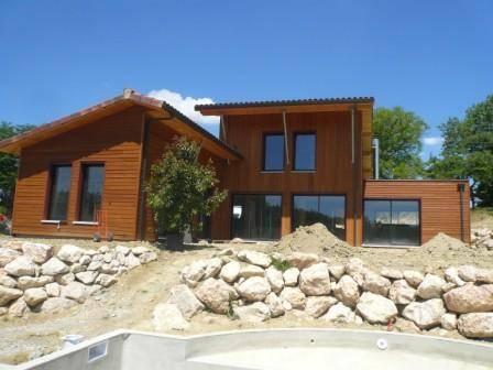 Maison bois r f 5 pr s de toulouse en haute garonne 31 for Constructeur de maison en bois haute garonne
