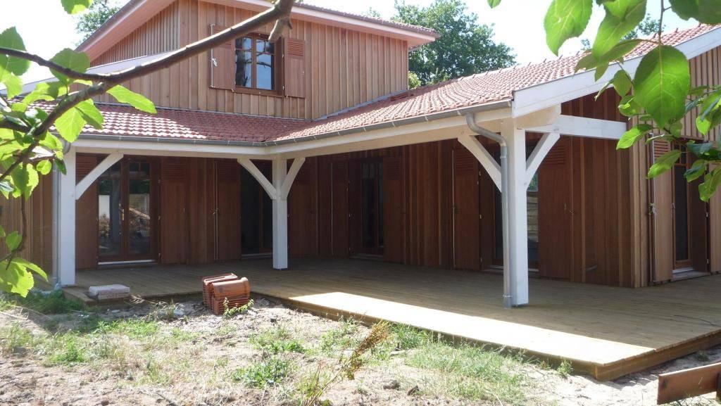 Fabricant terrasse bois gironde for Maison bois aquitaine