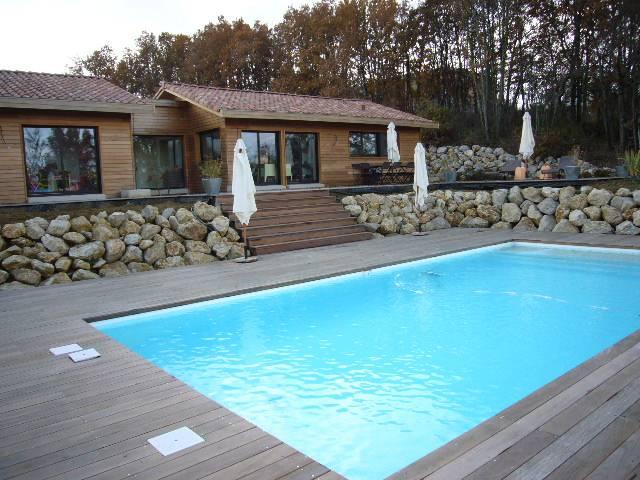 Maison bois réf 1314  près de Montauban dans le Tarn et Garonne (82)  Coge