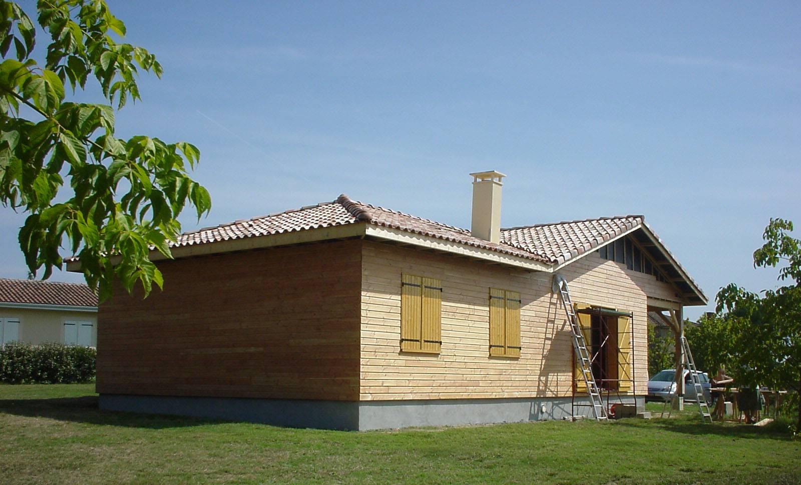 Constructeur maison bois langon ventana blog for Constructeur maison 18