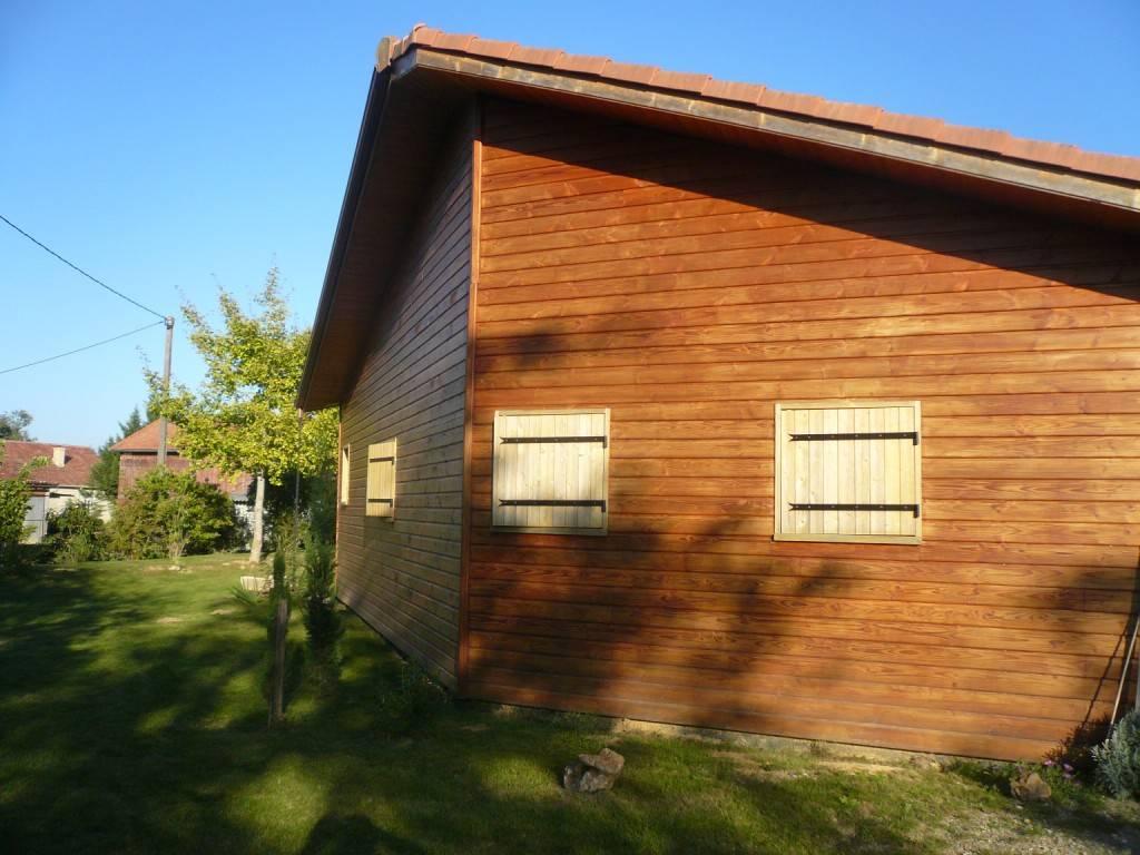 Maison bois r f 20 pr s d 39 aire sur l 39 adour dans le for Garage auguchon aire sur l adour