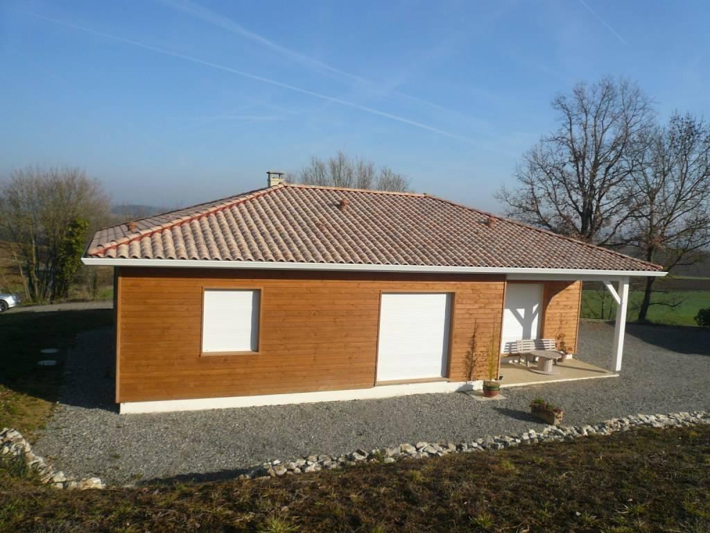 Maison bois réf 21  près de Gimont dans le Gers (32)  Cogebois