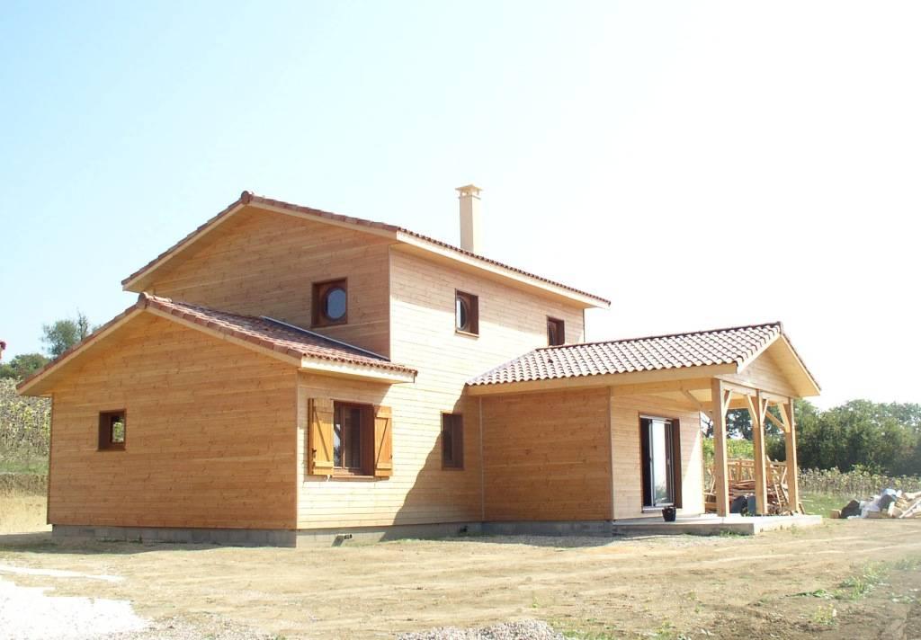 Maison ossature bois r f 21 pr s d 39 agen dans le lot et garonne 47 cogebois for Construction bois 21
