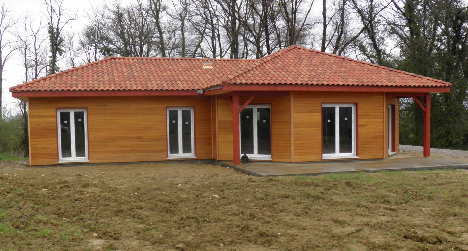 Constructeur maison bois pau for Constructeur maison 64