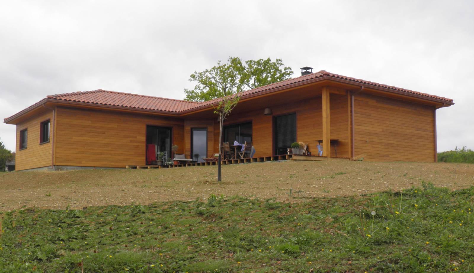Constructeur maison bois hautes pyrenees for Constructeur maison bois 51