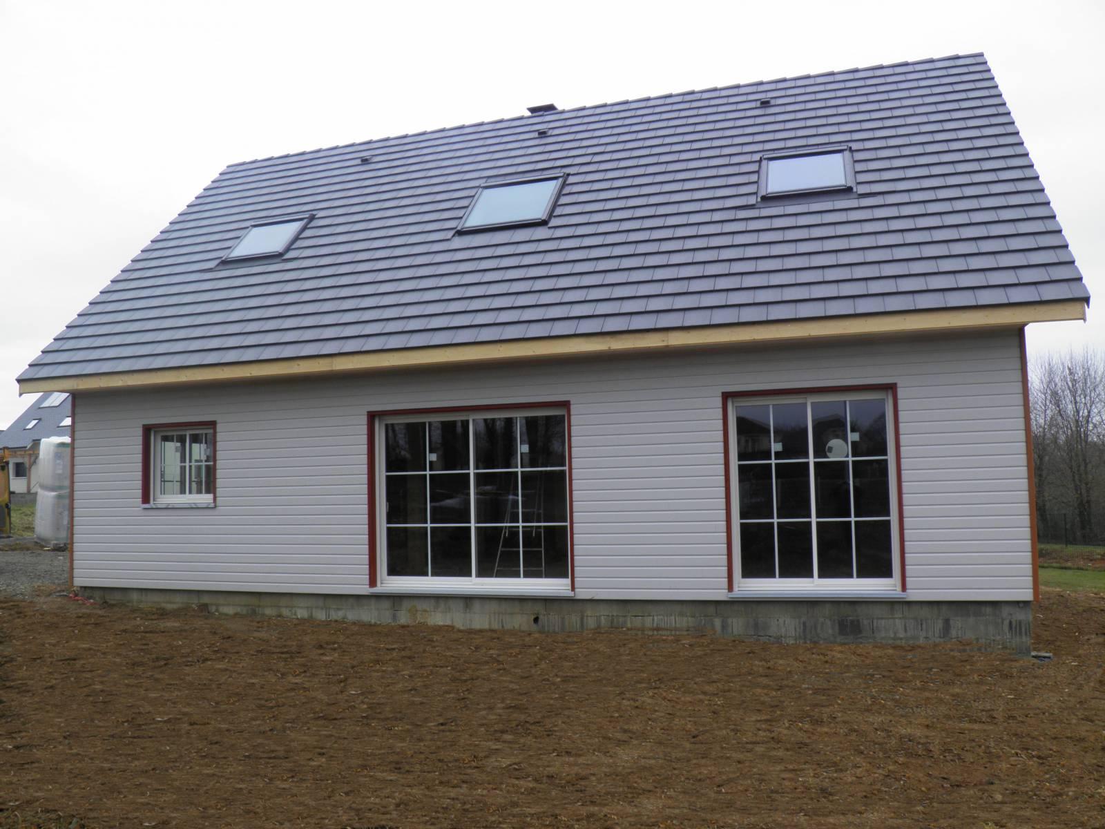 Maison auto construction réf 25  près de Pau dans les Pyrénées Atlantiques (