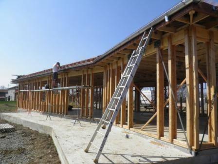 Maison bois r f 25 pr s de st gaudens dans la haute for Constructeur de maison en bois haute garonne