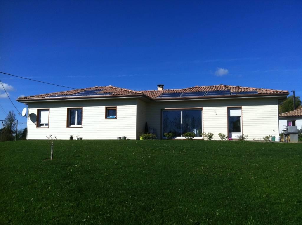 Maison bois réf 24  près de Nogaro dans le Gers (32)  Cogebois