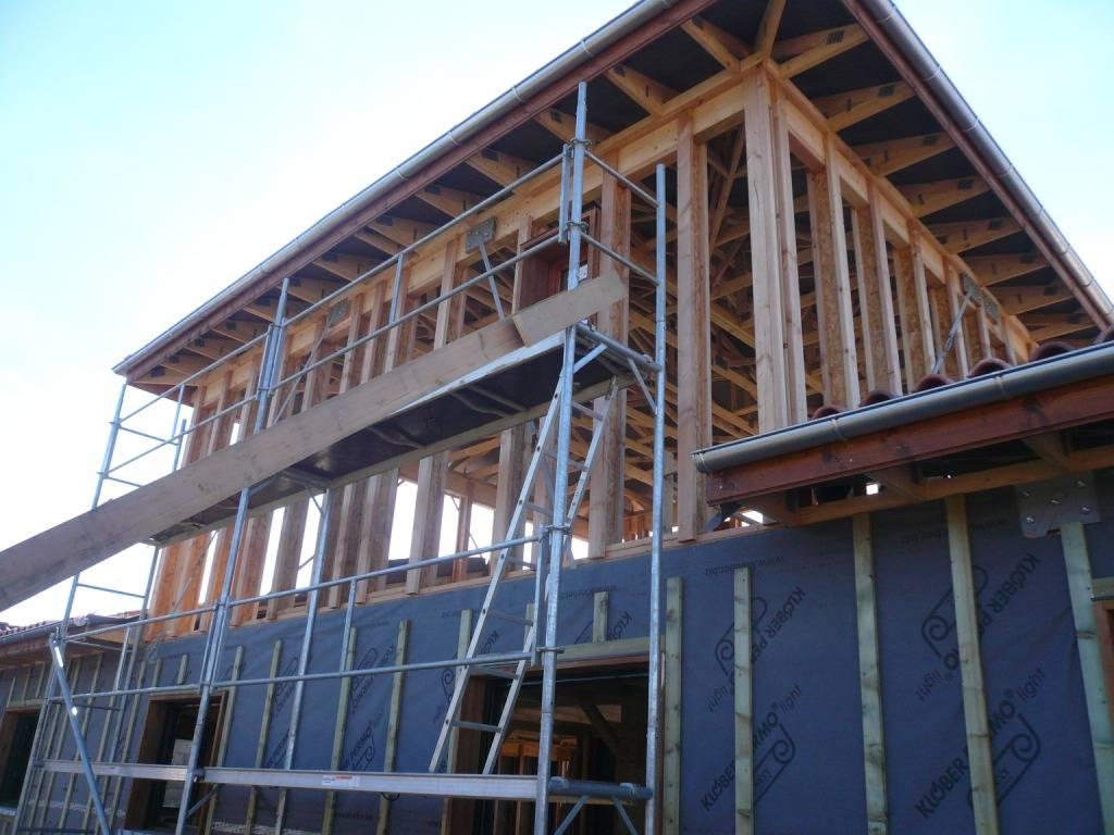 Maison ossature bois r f 25 pr s de lannemezan en hautes for Constructeur de maison hautes pyrenees