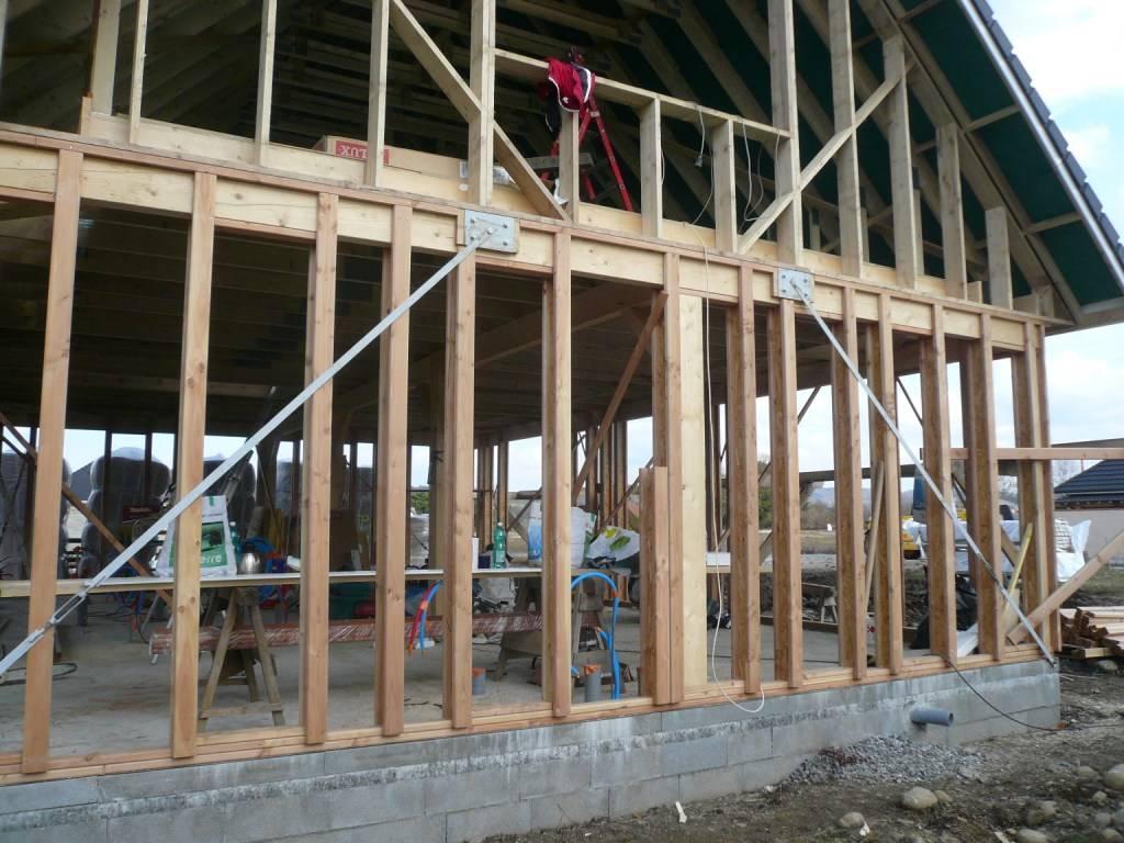 Maison construction bois r f 28 pr s de nay dans les for Construction bois 87