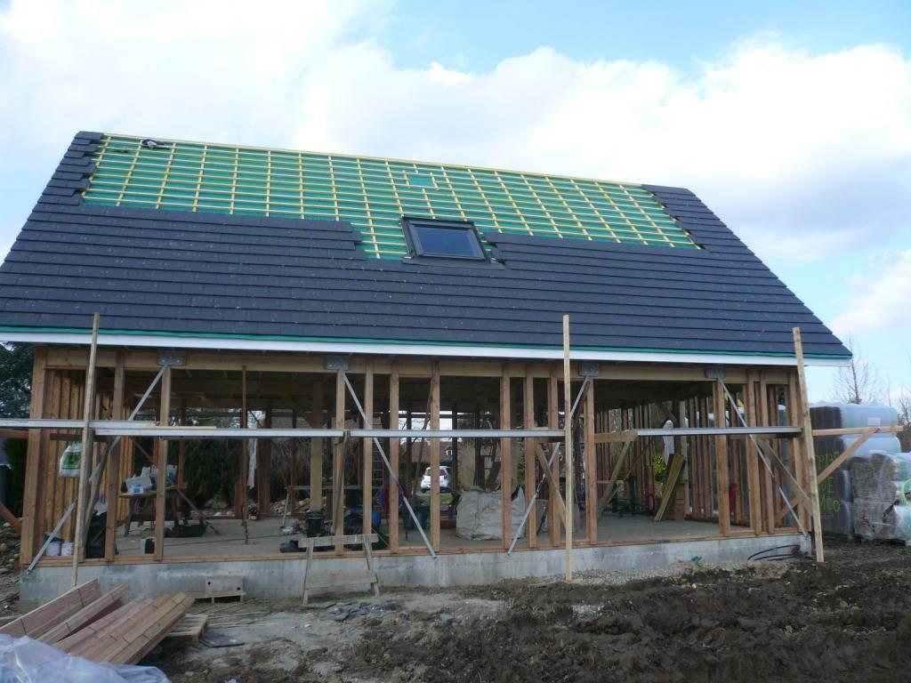 Maison construction bois r f 28 pr s de nay dans les pyr n es atlantiques 64 cogebois for Construction maison en bois hautes pyrenees