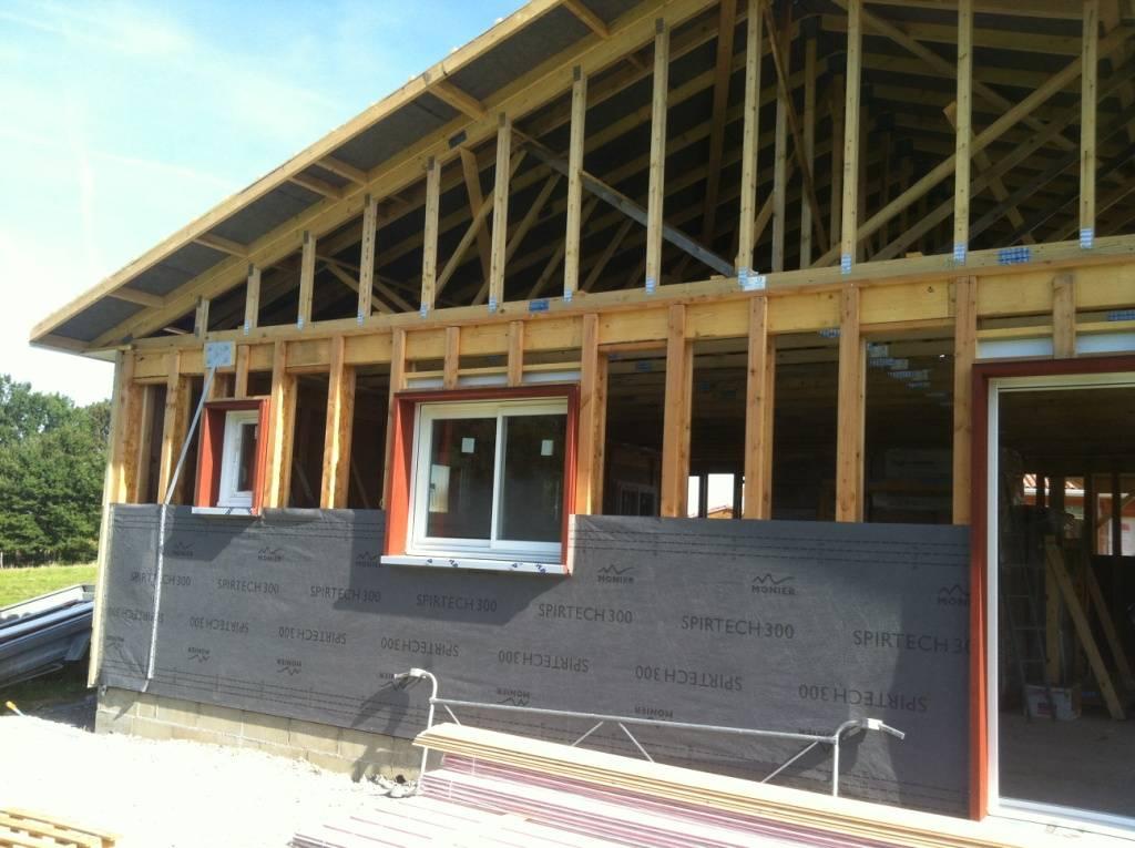 Maison ossature bois r f 32 pr s de st gaudens en haute for Constructeur de maison en bois haute garonne
