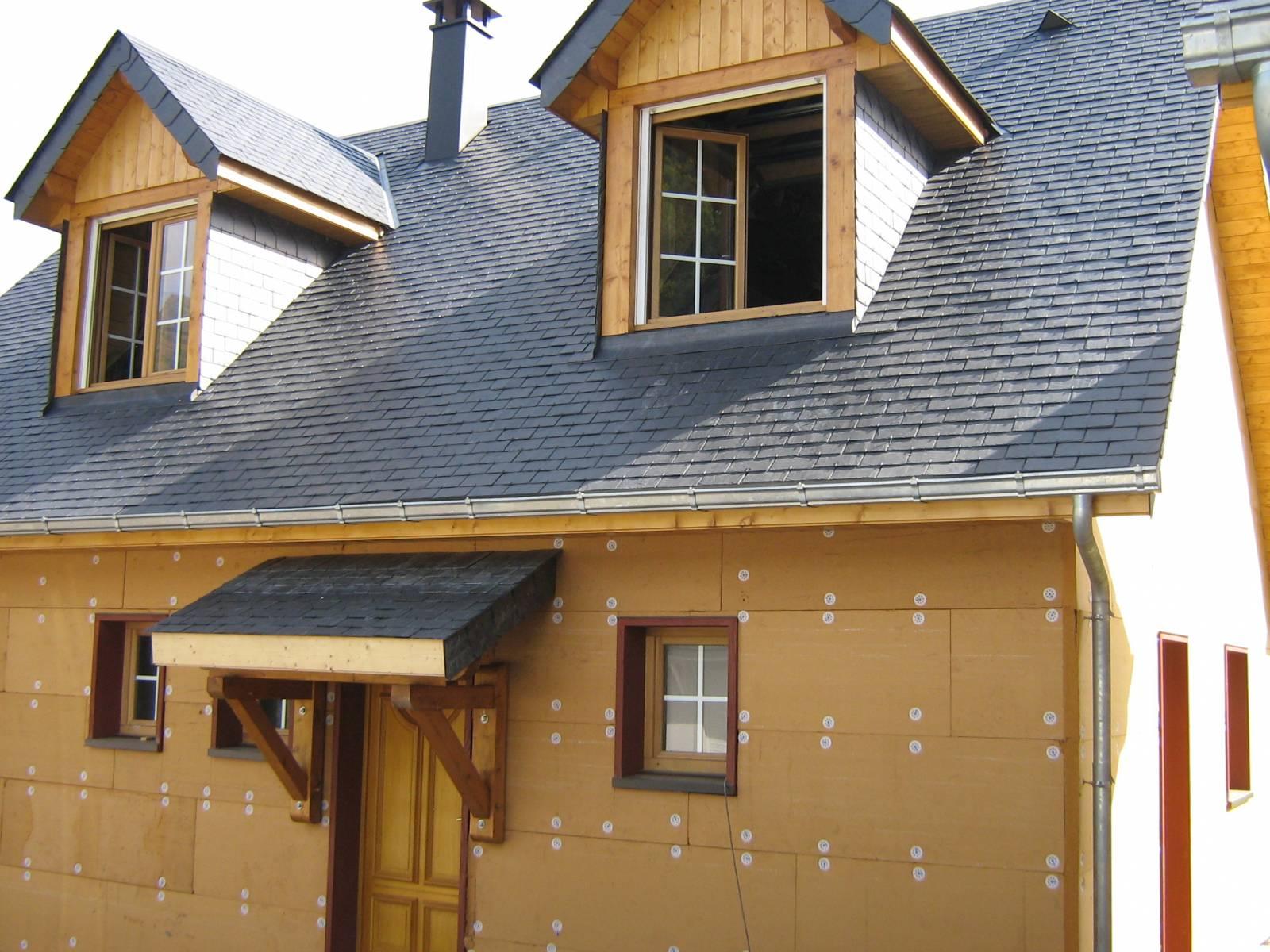 Maison construction bois r f 8 pr s de arreau dans les for Constructeur de maison hors d eau hors d air