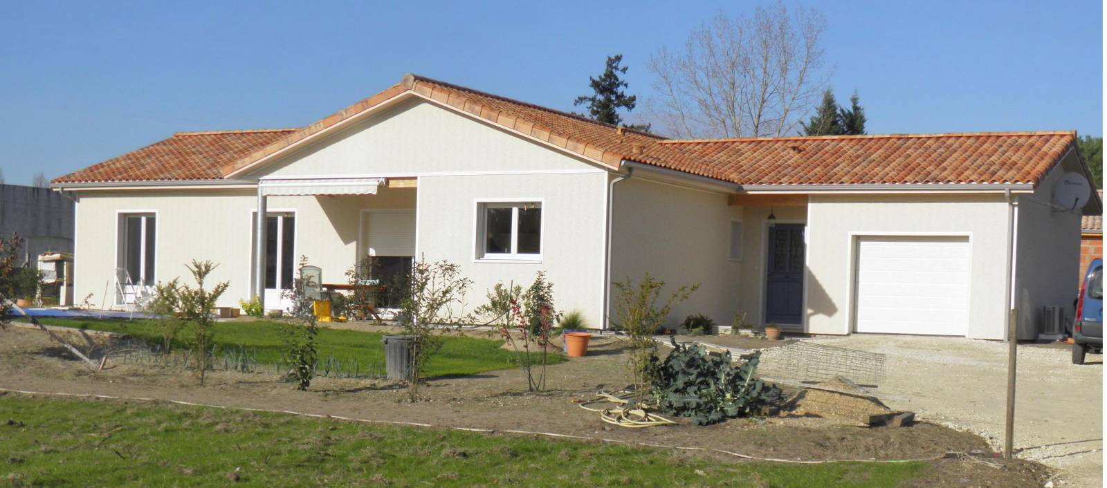 Maison construction bois réf 18 19 pr u00e8s de St André de Cubzac Gironde (33) Cogebois # Construction Bois Gironde
