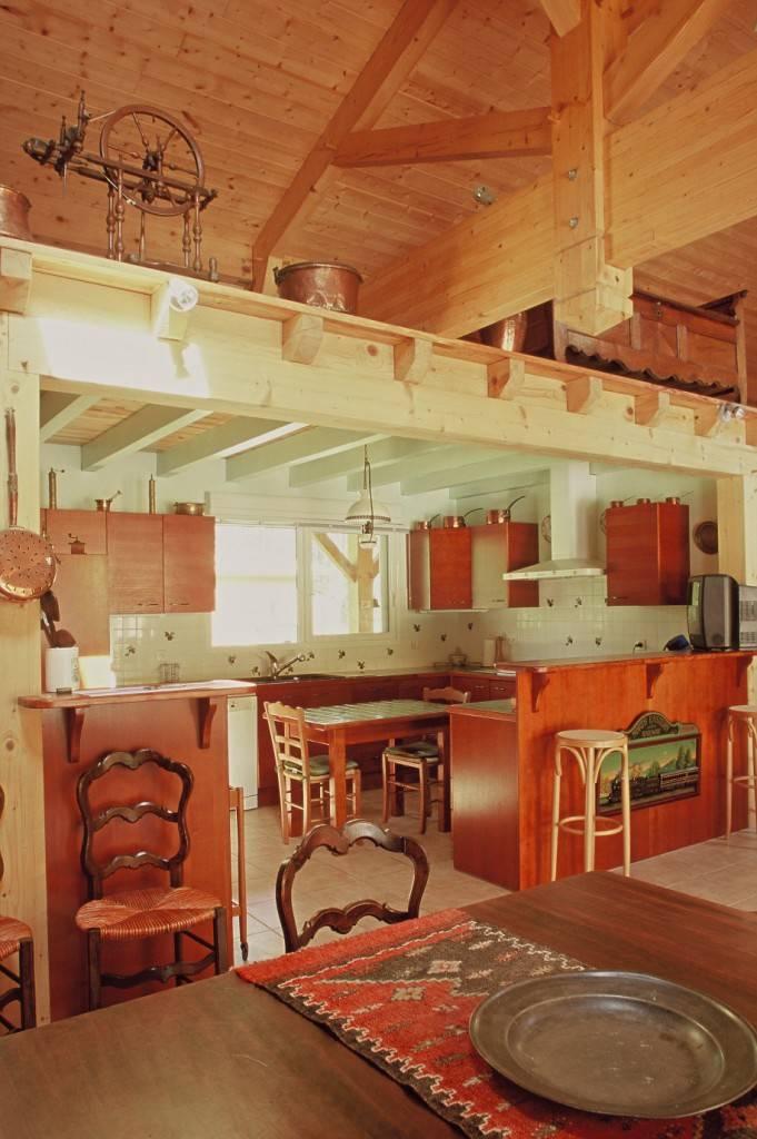 Maison construction bois r f 20 21 pr s de morcenx dans les landes 40 cogebois for Construction bois 21