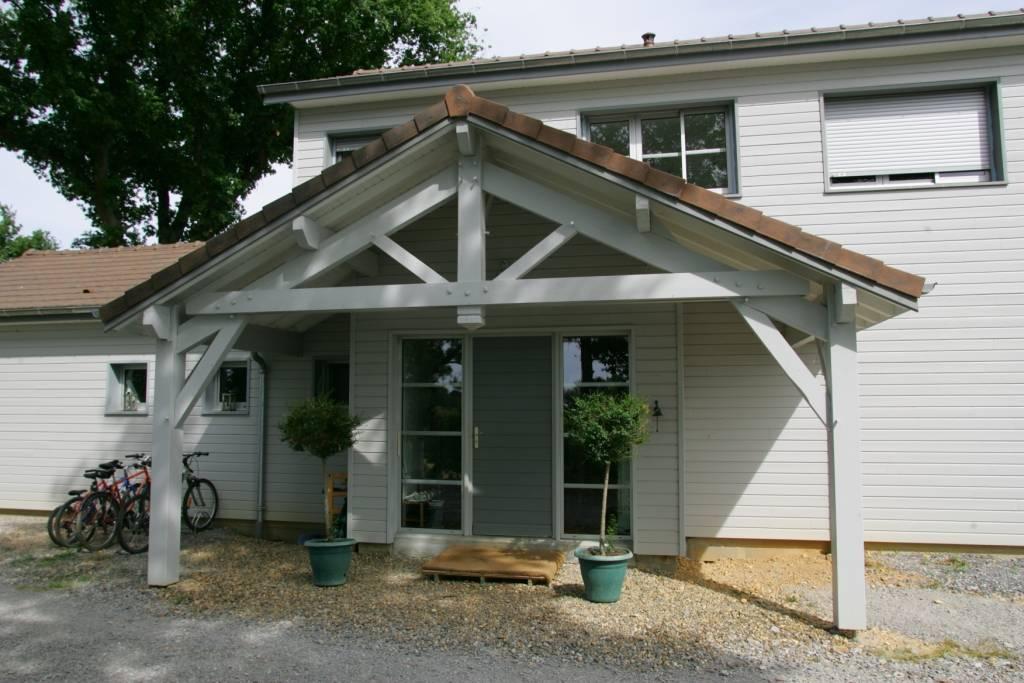 maison construction bois r f 24 25 pr s de salies de