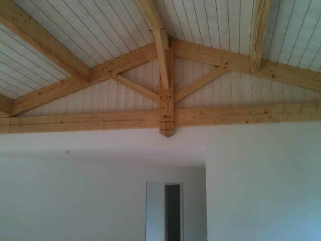 Maison construction bois r f 30 pr s de toulouse en for Constructeur de maison en bois haute garonne