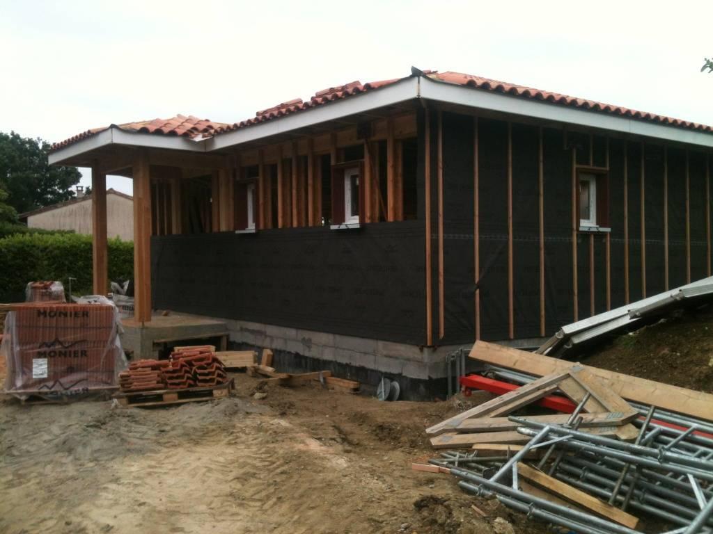 Maison construction bois r f 30 pr s de toulouse en haute garonne 31 cogebois for Construction maison en bois bordeaux