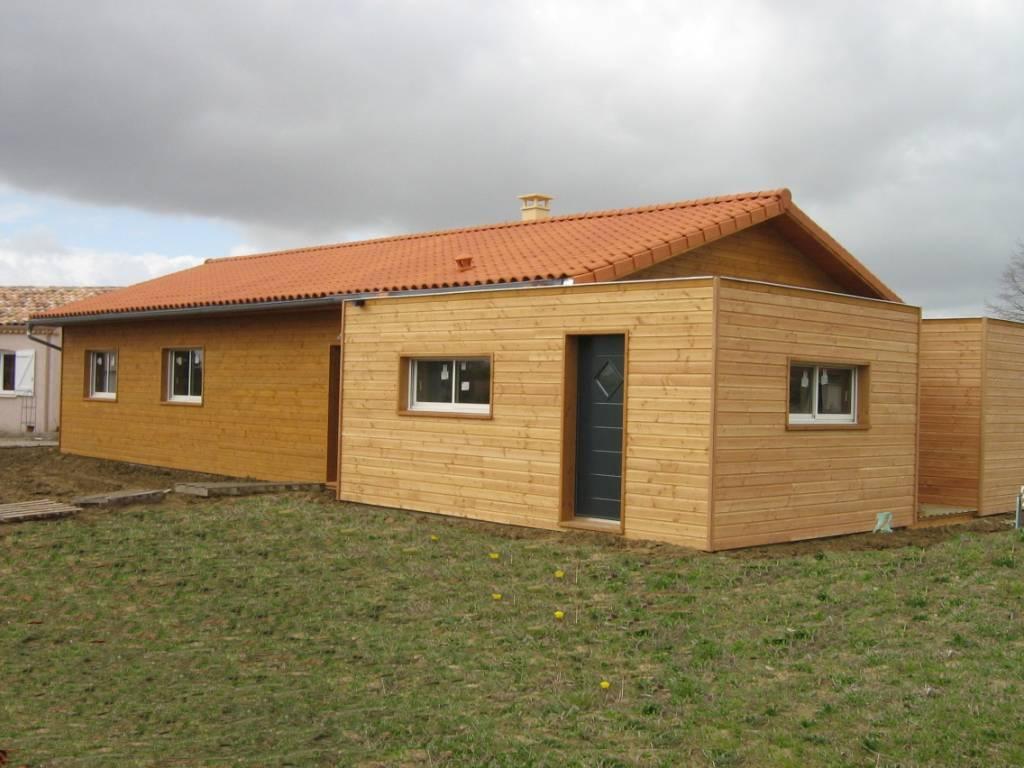 construction de maison modulaire en bois r f 4 pr s d 39 albi dans le tarn 81 cogebois. Black Bedroom Furniture Sets. Home Design Ideas
