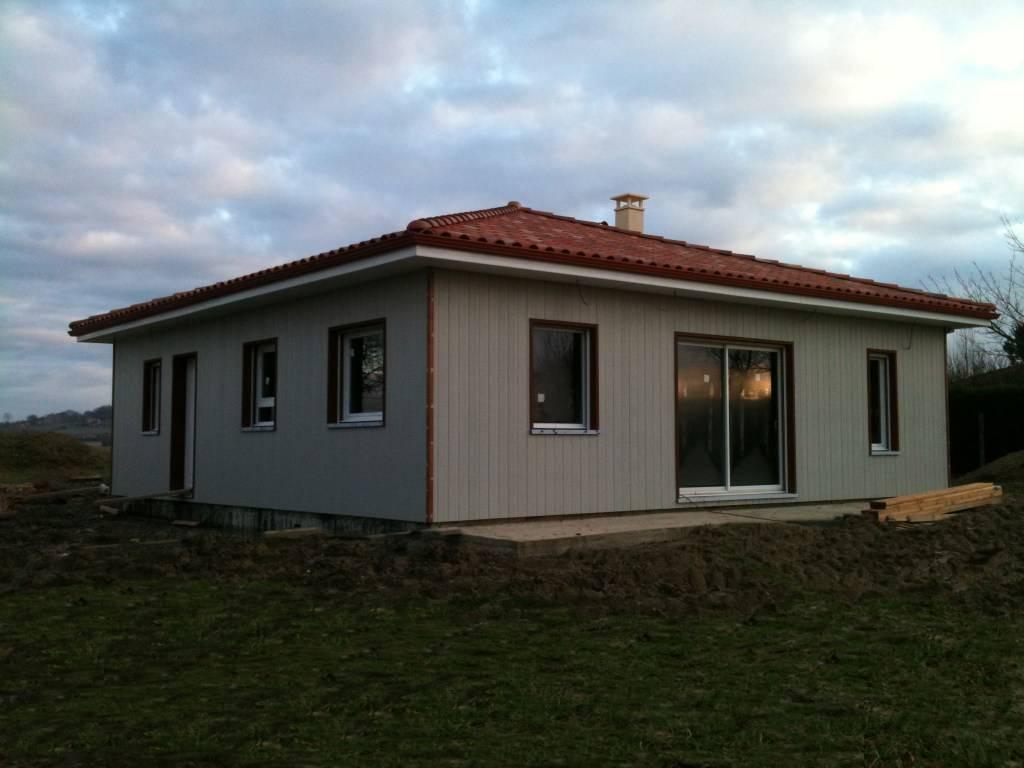 Maison ossature bois 28 pr s de riscle dans le gers 32 for Constructeur maison en bois gers