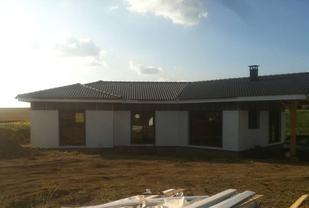 Maison construction bois r f 34 pr s de l 39 isle jourdain for Constructeur de maison en bois haute garonne
