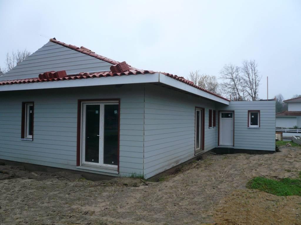 Maison ossature bois réf 37 pr u00e8s de Bordeaux en Gironde (33) Cogebois # Maison Ossature Bois Gironde