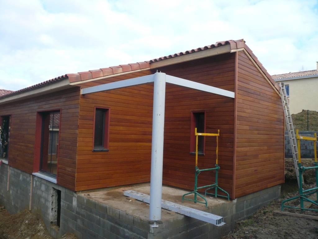 Maison construction bois réf 37 pr u00e8s de Toulouse en Haute Garonne (31) Cogebois # Construction Bois Toulouse
