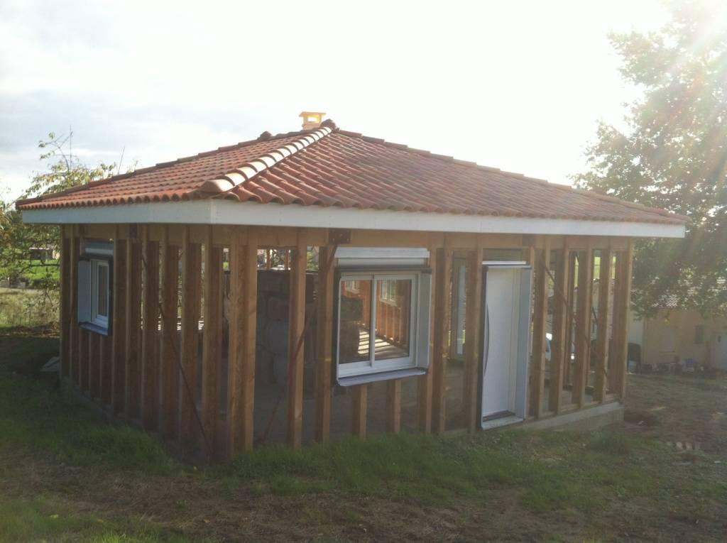 Maison bois à construire dans le Gers (32)  Réf 10033  Cogebois