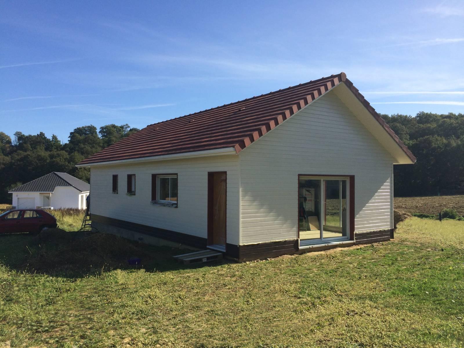 Acheter Maison bois Auto Construction dans les Pyrénées Atlantiques 64 réf 36 Cogebois