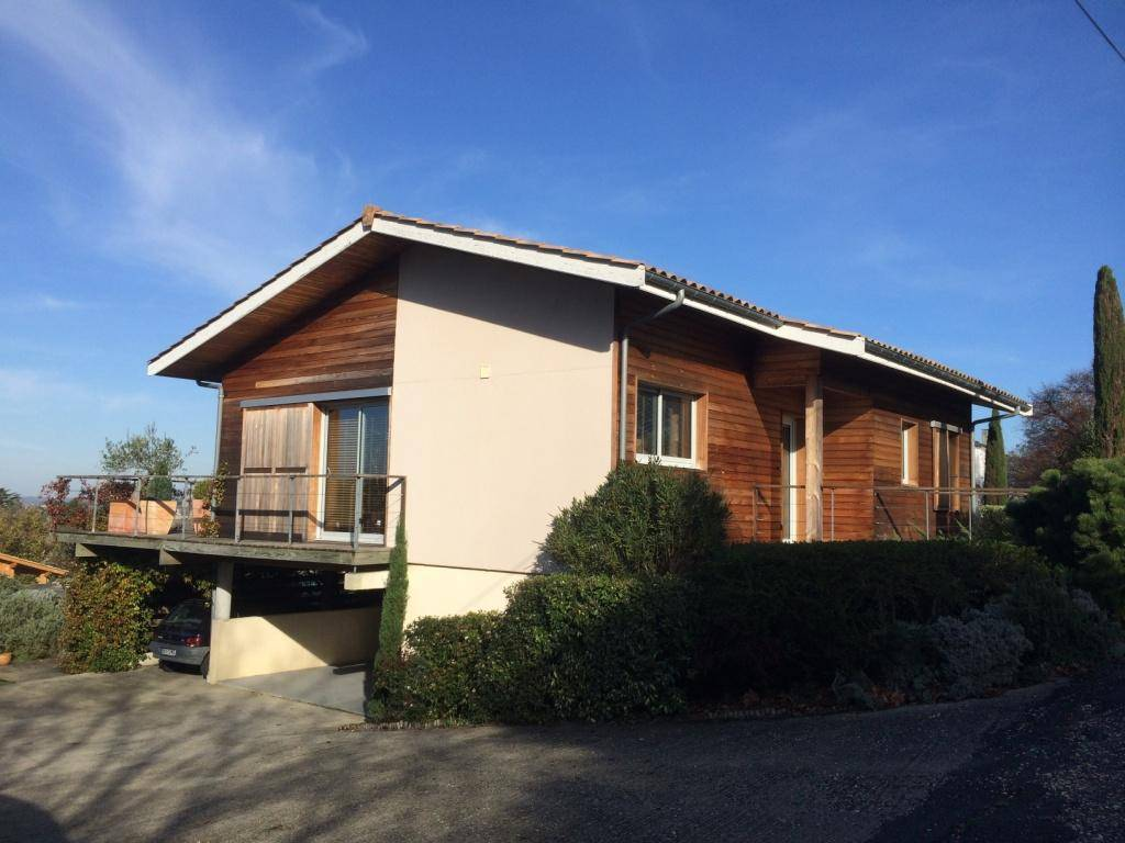 Maison construction bois réf 39 pr u00e8s de Bordeaux en Gironde (33) Cogebois # Construction Bois Gironde