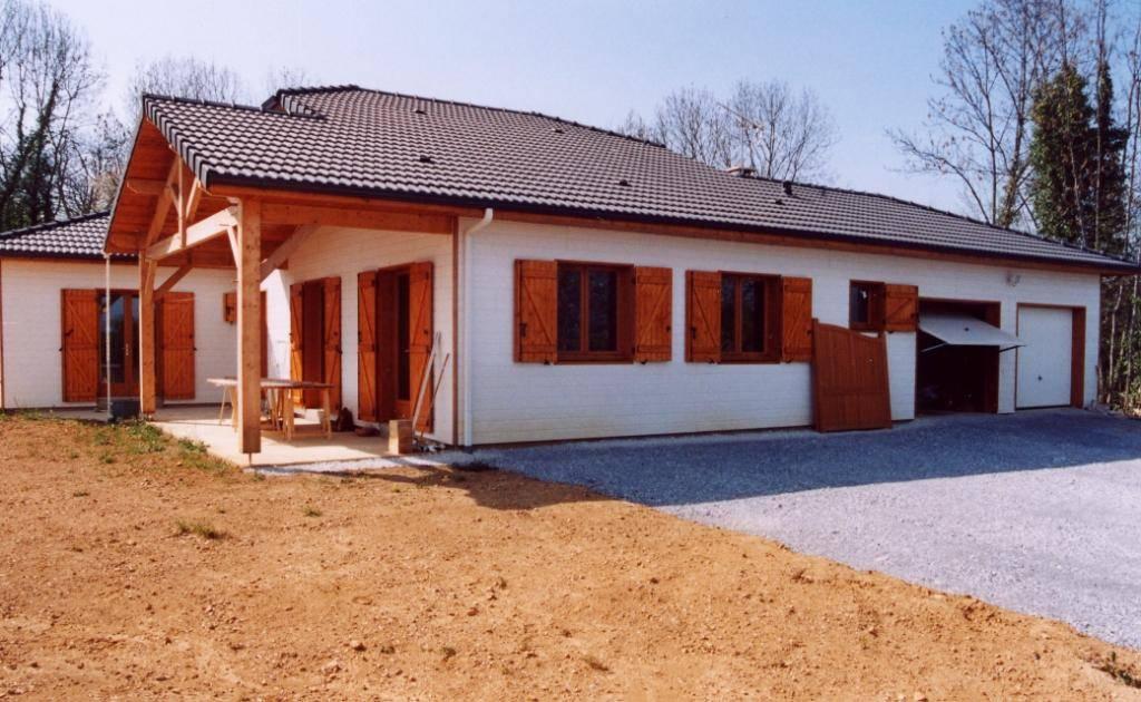 R aliser sa maison bois en autoconstruction secteur tarbes for Autoconstruction maison en bois