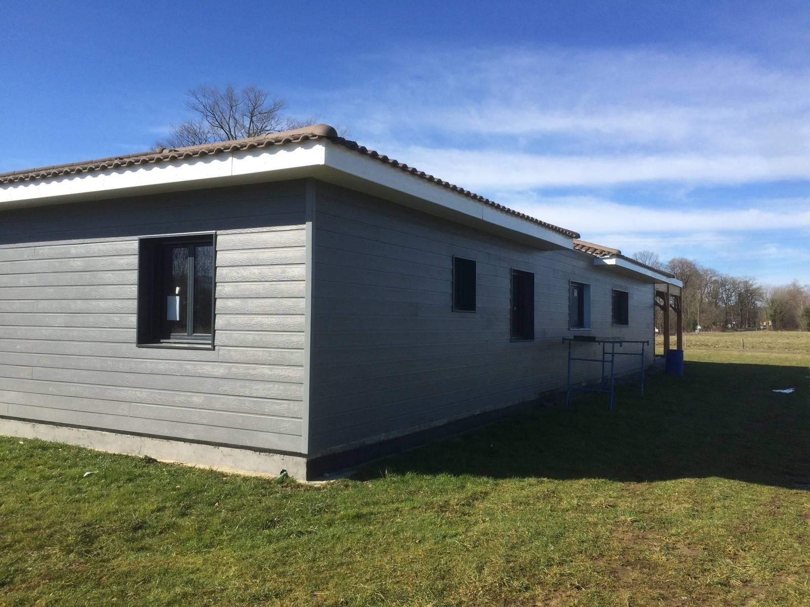 Autoconstruction Maison Bois - Acheter Maison bois auto construction dans les Pyrénées Atlantiques (64) Réf 00036 Cogebois