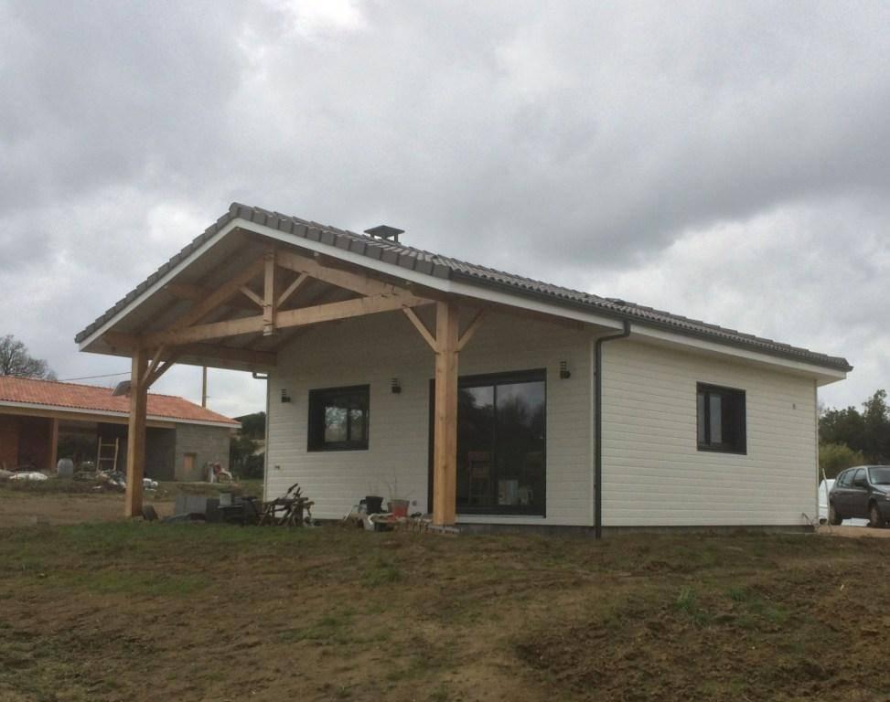 Maison construction bois r f 34 pr s de l 39 isle jourdain for Constructeur de maison haute garonne