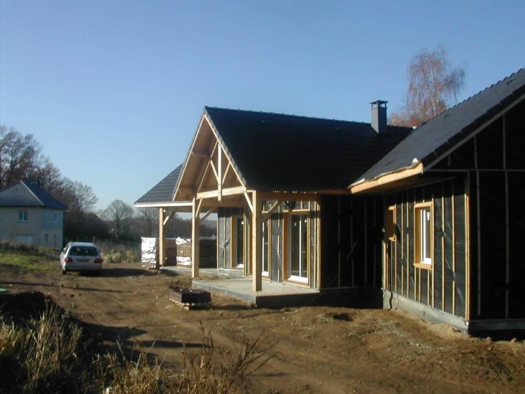 Acheter maison ossature bois pr s de brive en corr ze for Acheter maison bois