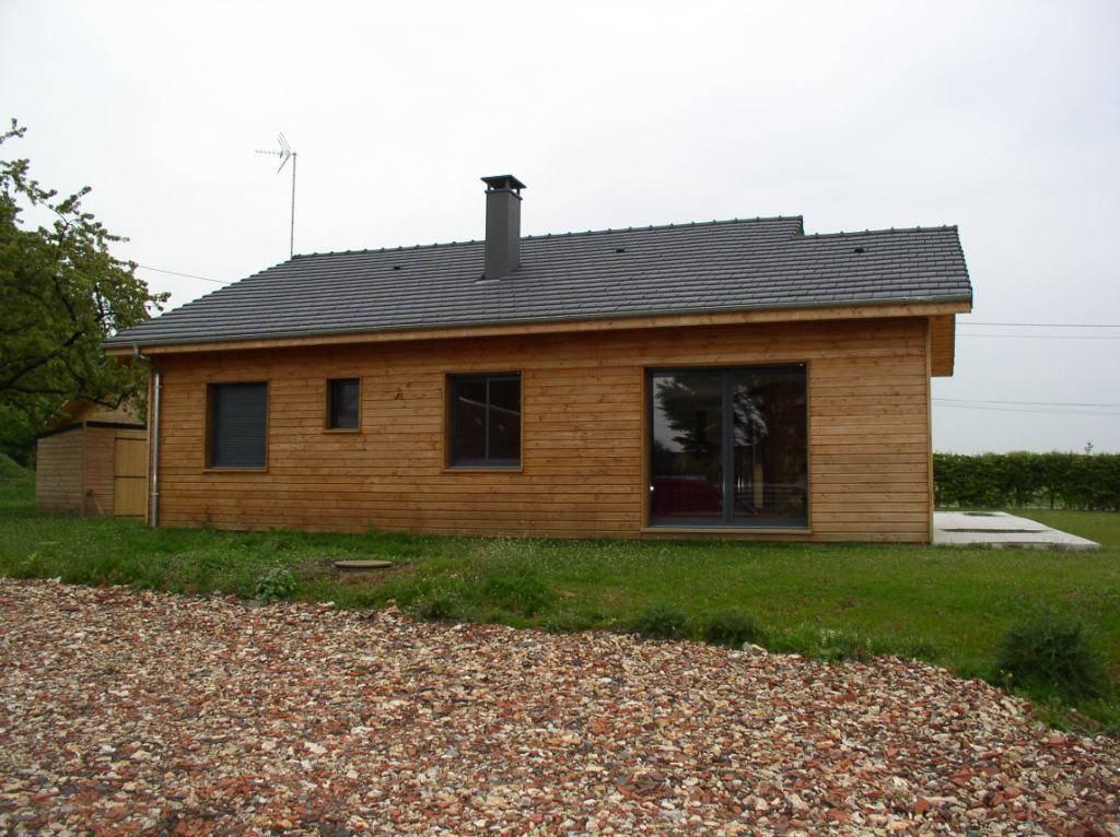 Acheter sa maison ossature bois pr s de dieppe dans la for Assurer sa maison hors d eau hors d air