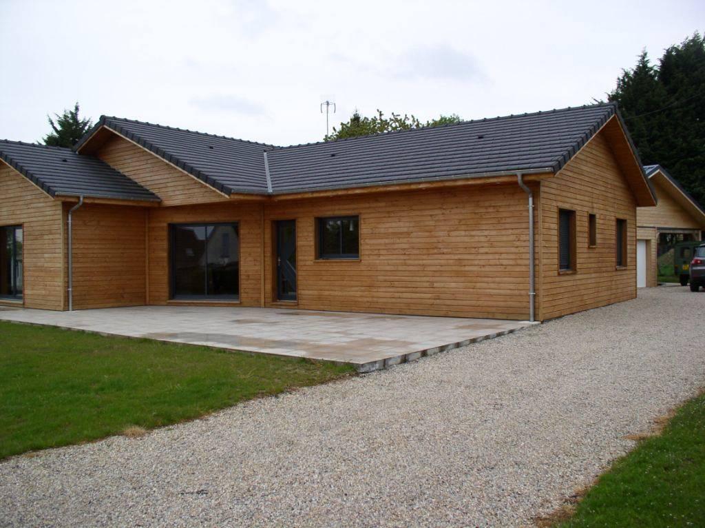 Acheter sa maison ossature bois pr s de dieppe dans la for Acheter une maison ouaga 2000