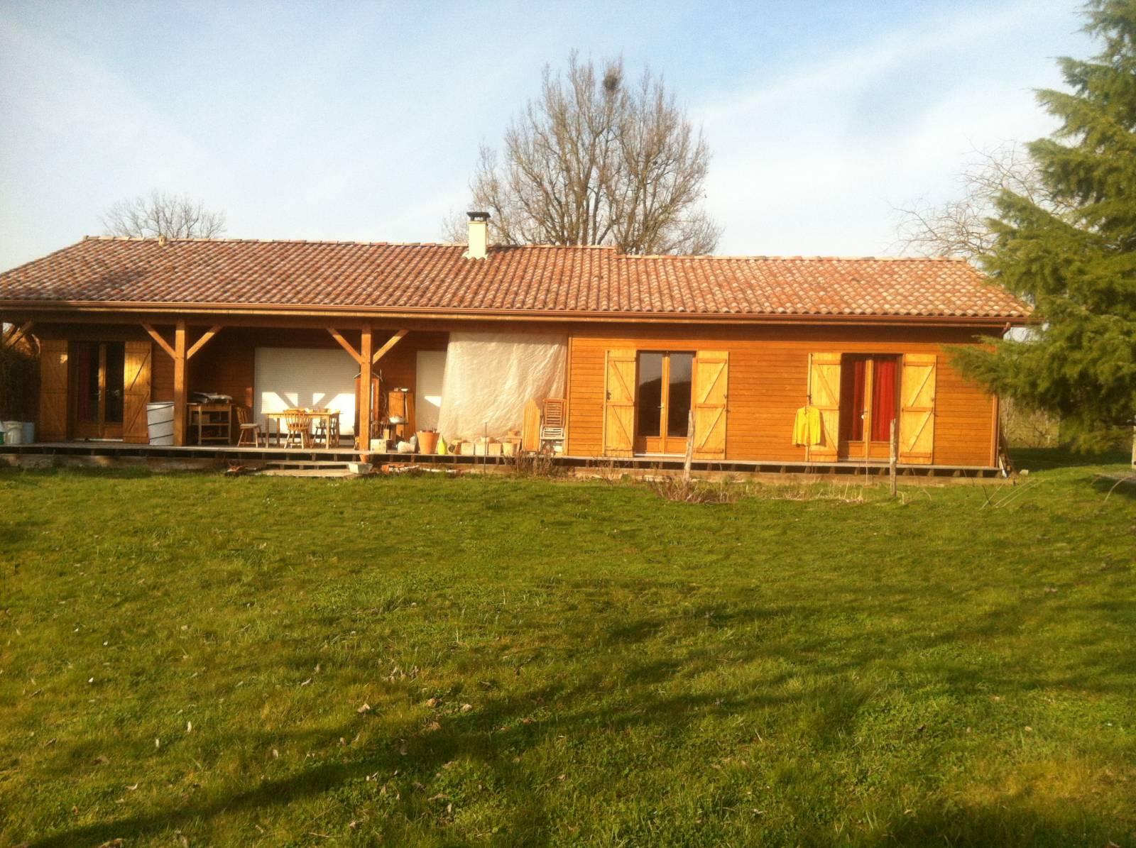 Maison bois réf 10044  près de Montauban dans le Tarn et Garonne (82)  Coge
