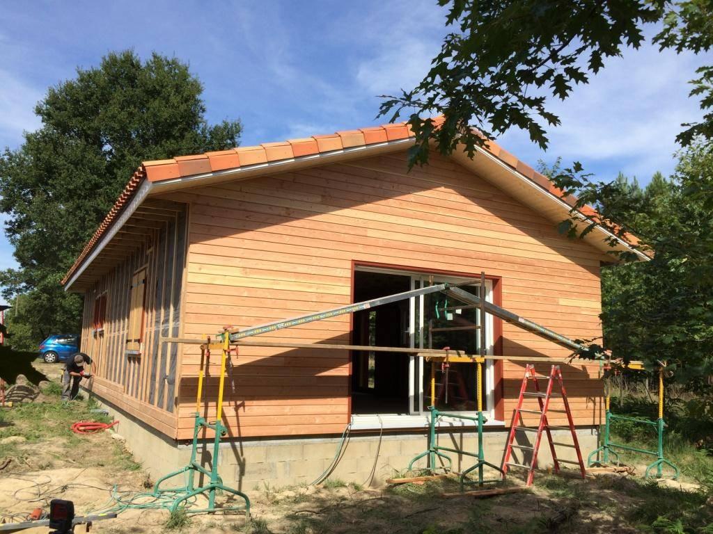 Maison auto construction r f 00038 pr s de nogaro dans for Auto construction maison