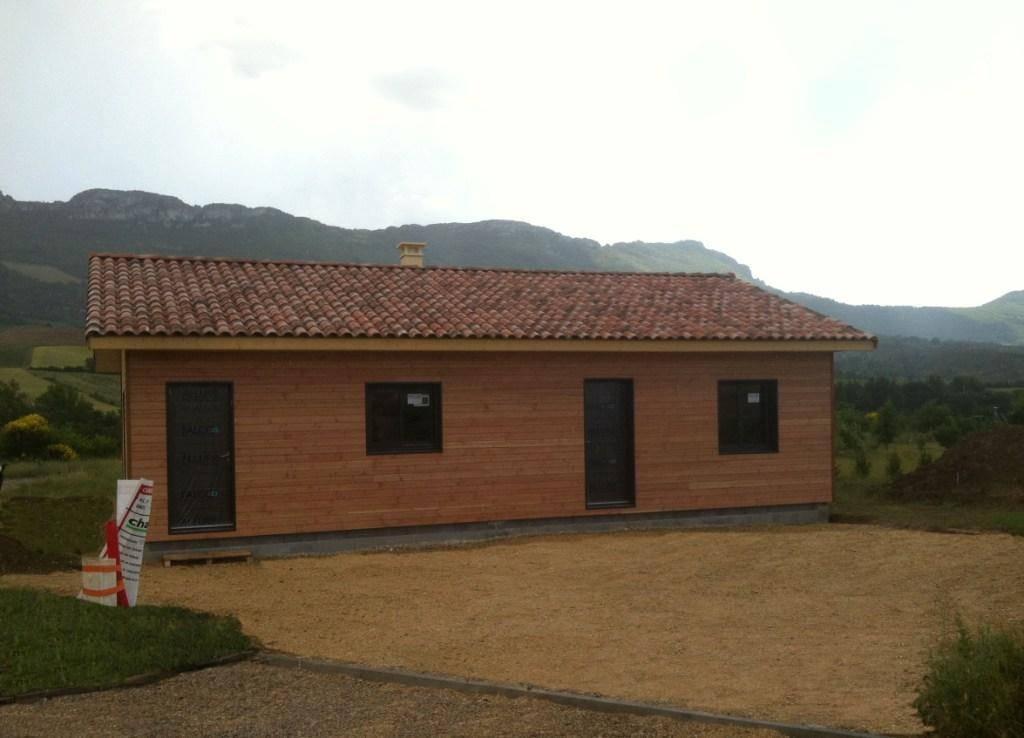 Maison hors d 39 eau hors d 39 air r f 43 pr s de nyons dans for Prix maison ossature bois hors d eau hors d air
