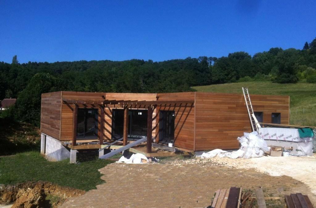 Maison bois réf 10041 pr u00e8s de Périgueux en Dordogne (24) Cogebois # Maison Bois Dordogne