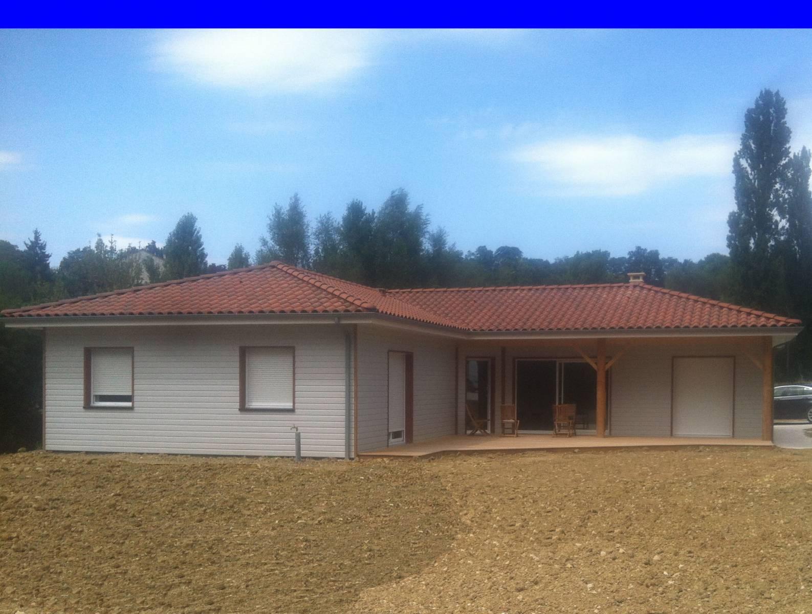 Constructeur maison bois lot et garonne maison moderne for Constructeur maison contemporaine lot et garonne
