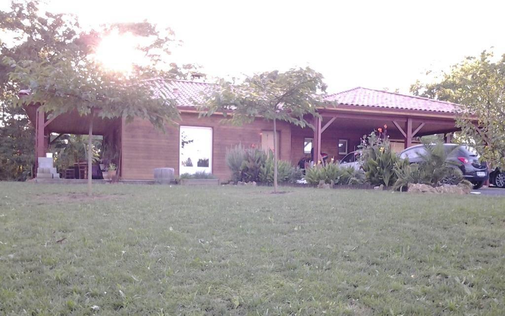 Maison bois réf 10038  près de Nogaro dans le Gers (32)  Cogebois