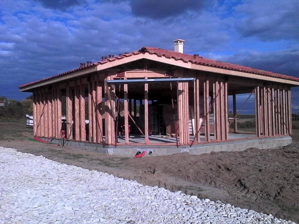 maison construction bois r f 45 pr s de marmande dans le lot et garonne 47 cogebois